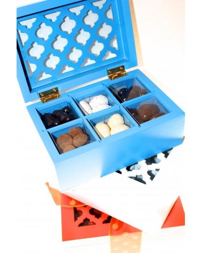 Modern White Moroccan Box